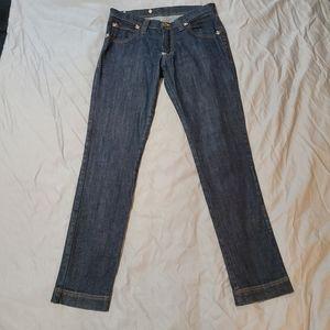 Frankie Morello Skull Straight Leg Jeans 32